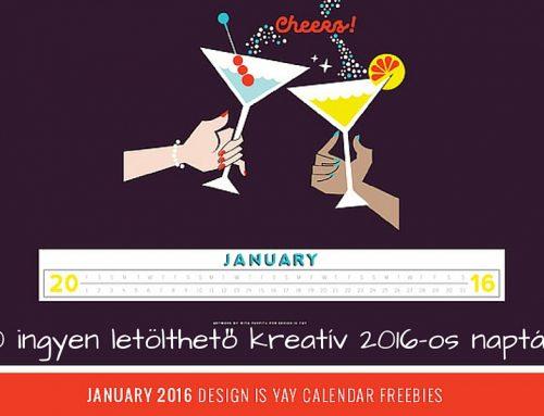 10 ingyenesen letölthető kreatív 2016-os naptár